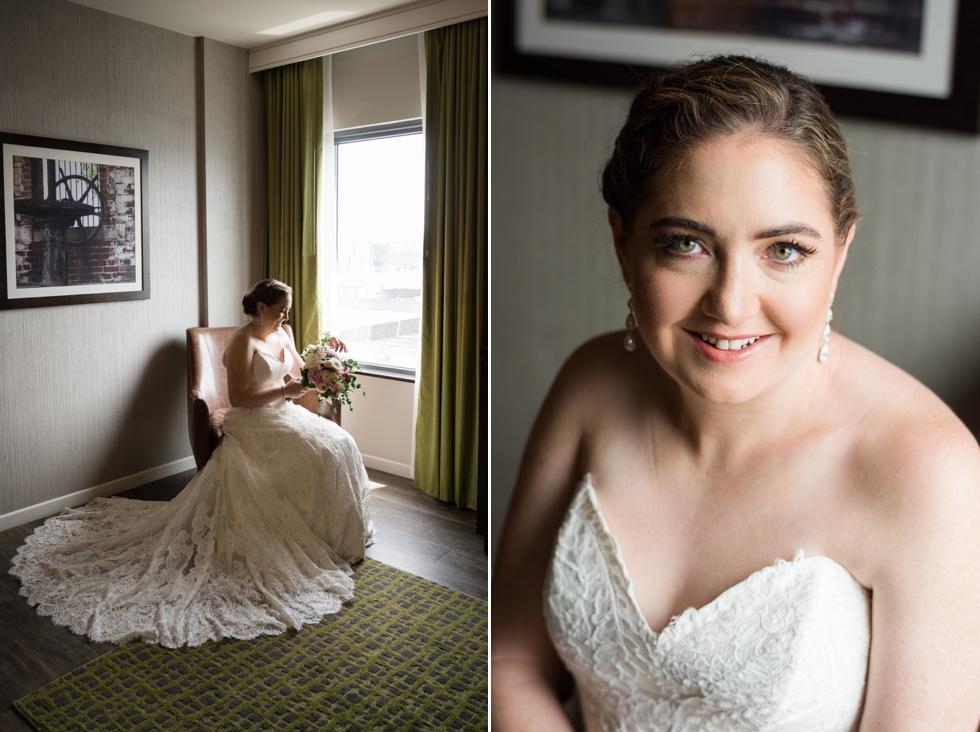 Hampton Inn & Suites Washington DC wedding