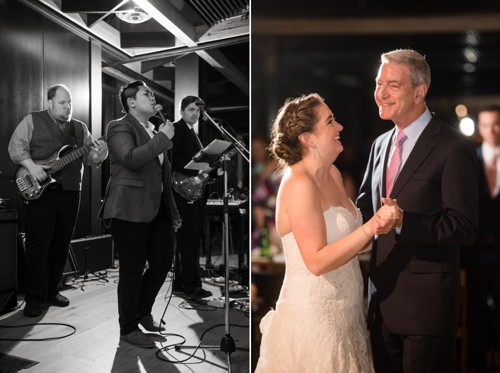 District Winery wedding parent dances