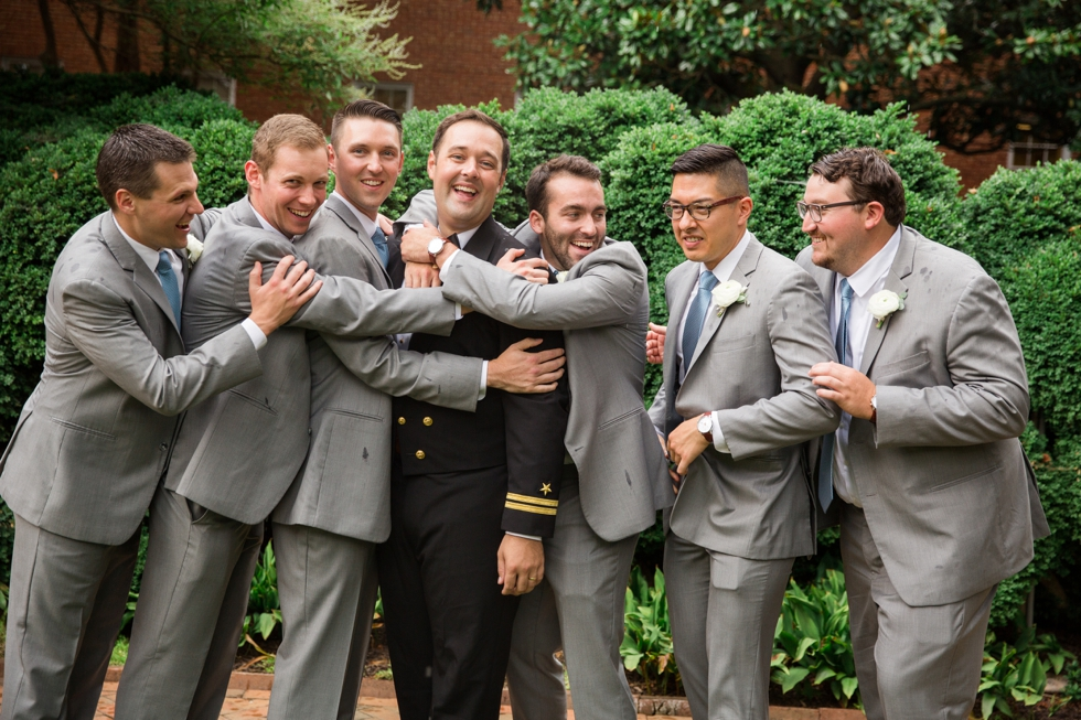 St Marys Annapolis wedding party photos