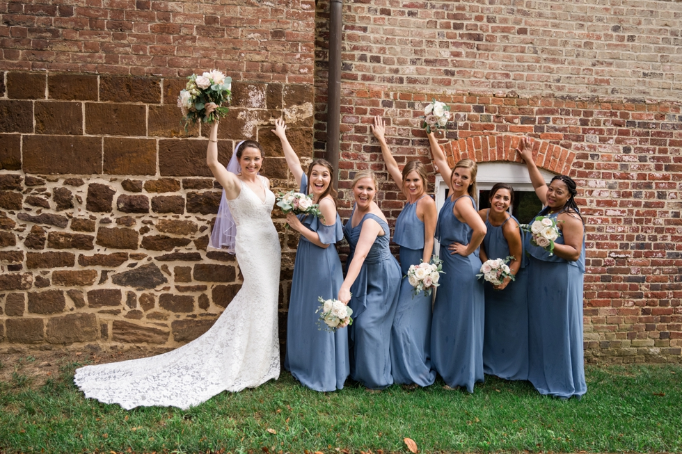 Carroll House bridesmaid photo