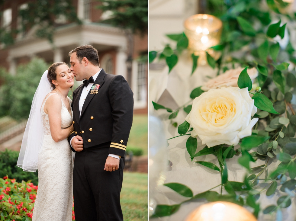 Annapolis State house wedding photo