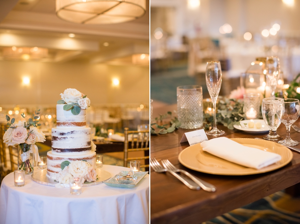 Floret + vine Annapolis waterfront hotel wedding