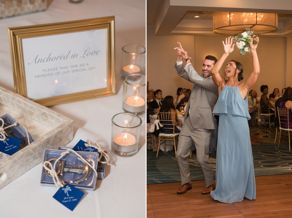 Annapolis waterfront hotel wedding 2hands Studio design