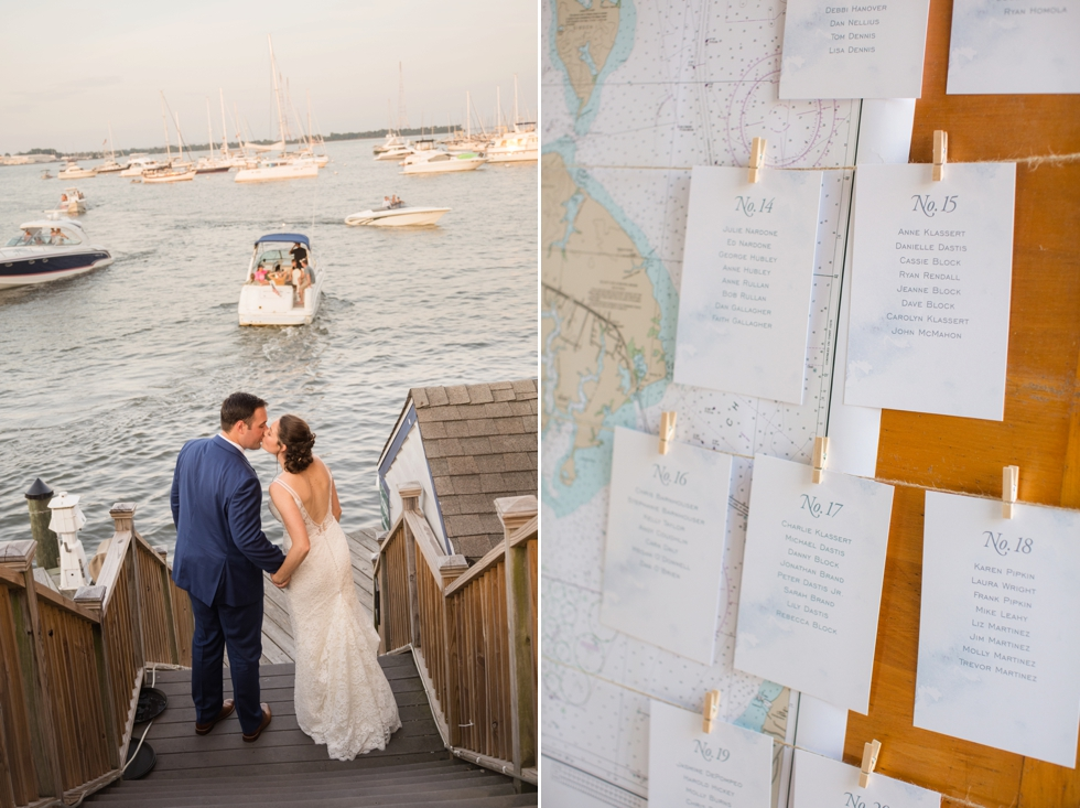 2hands Studio Annapolis waterfront hotel wedding decor