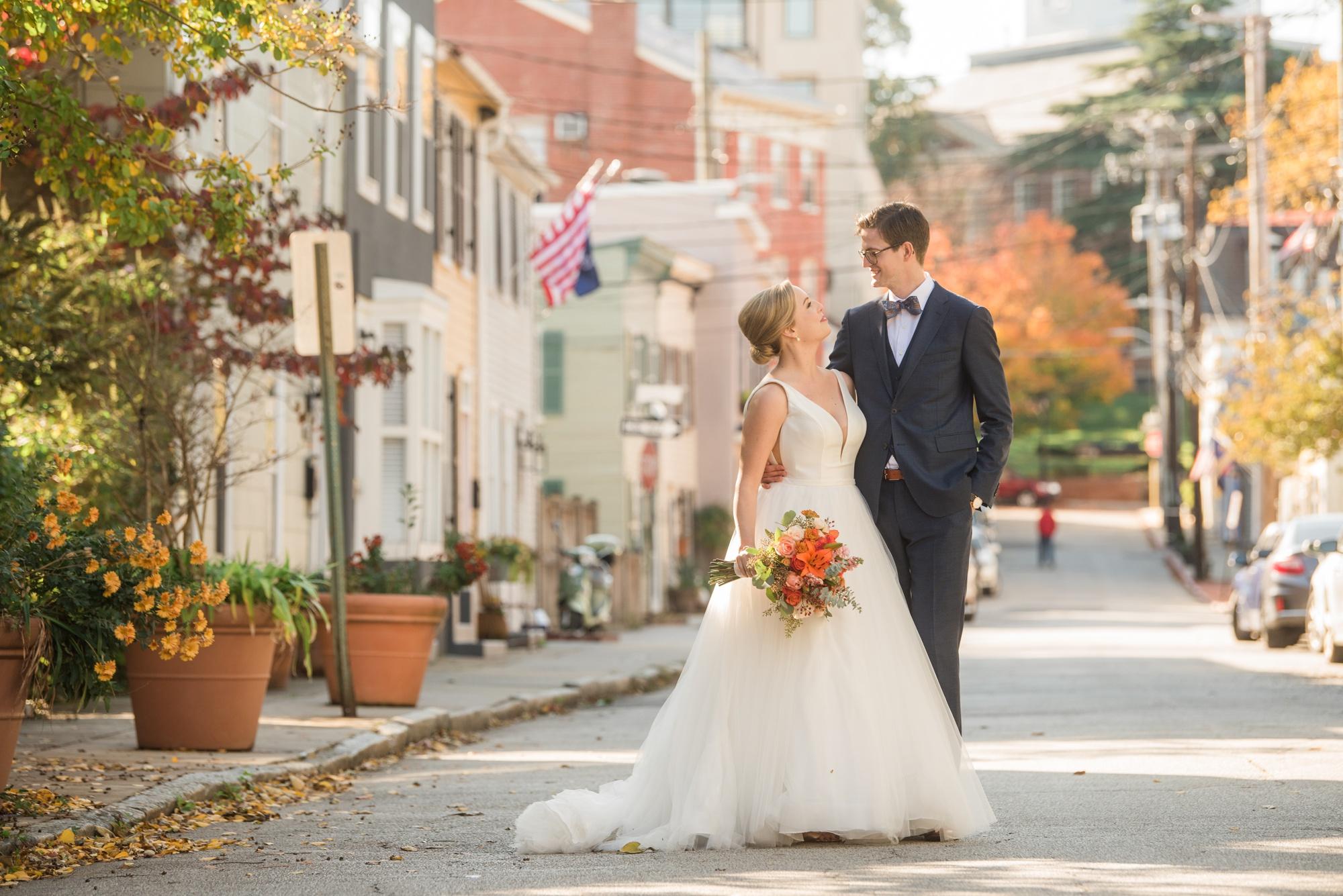 Annapolis wedding couple photography