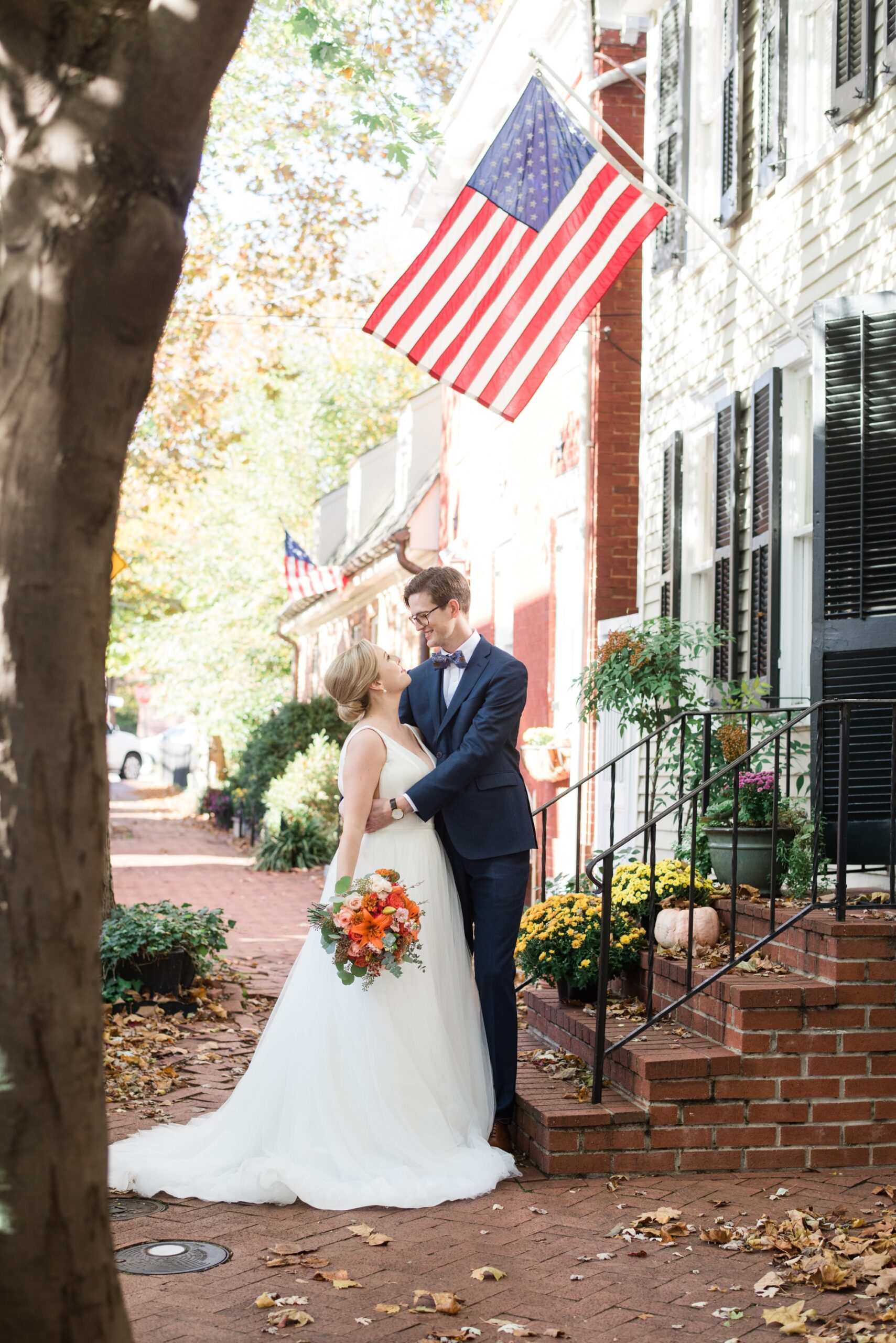Annapolis wedding couple