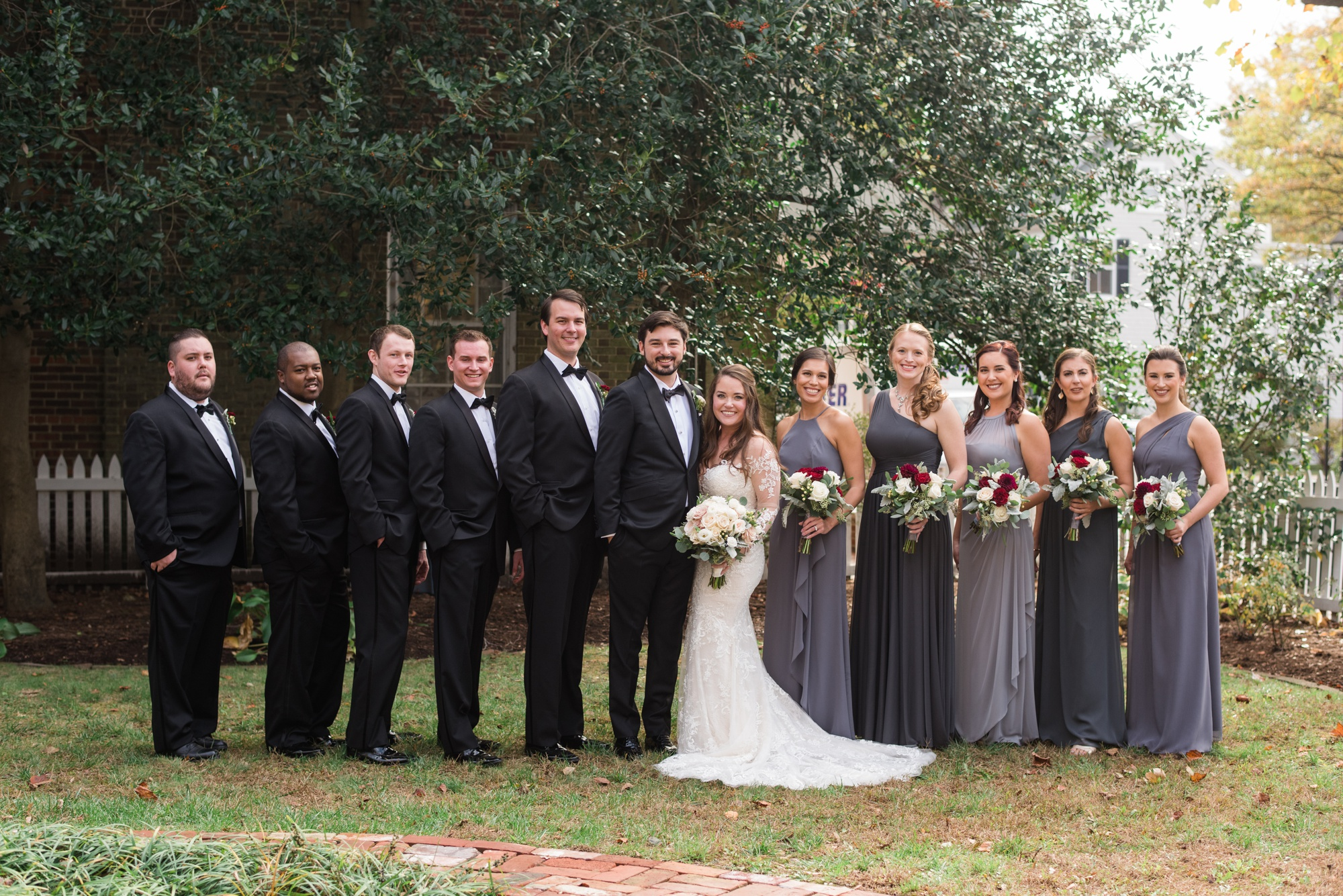 The Tidewater inn wedding party at Bullet House