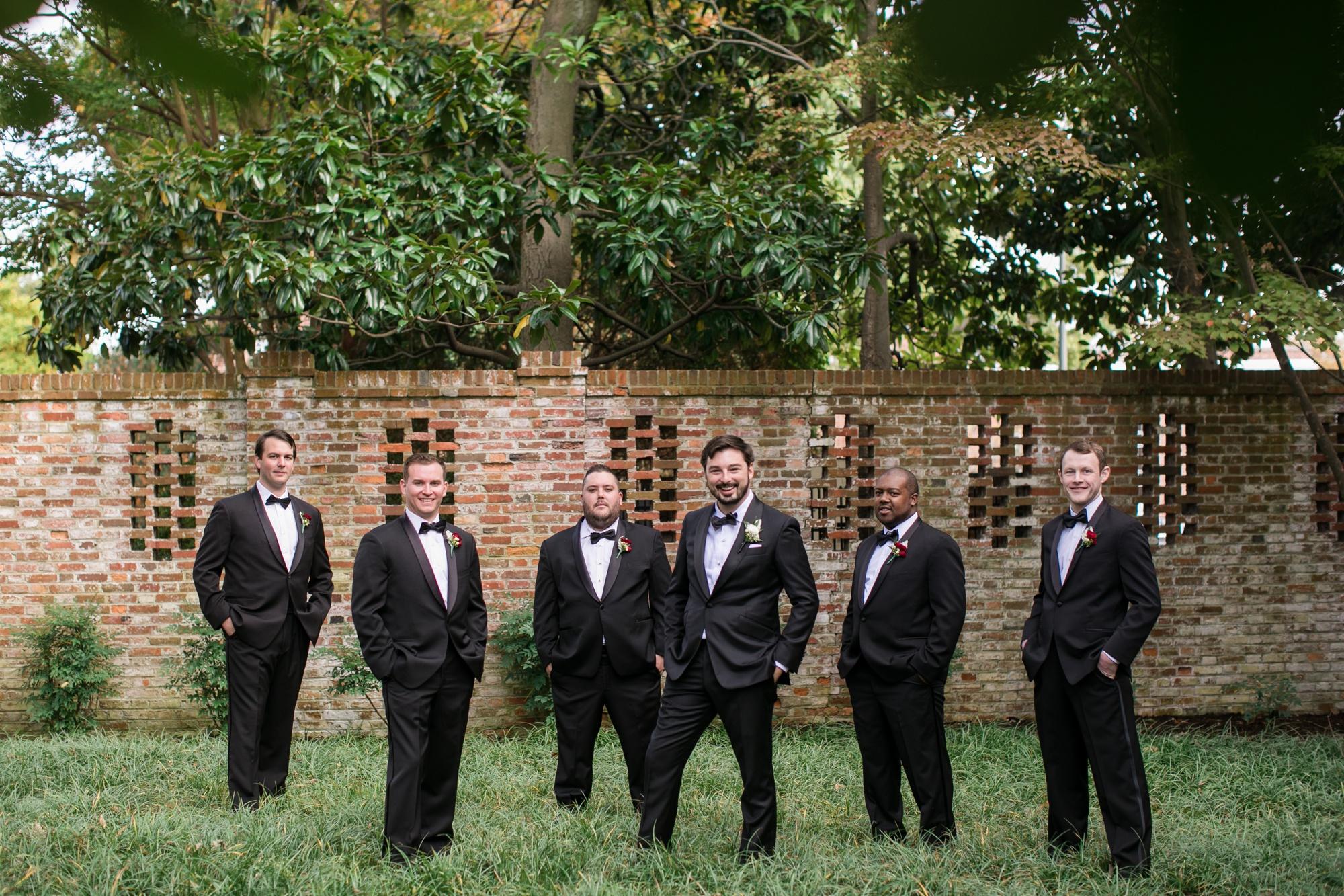 The Tidewater inn groomsmen photo