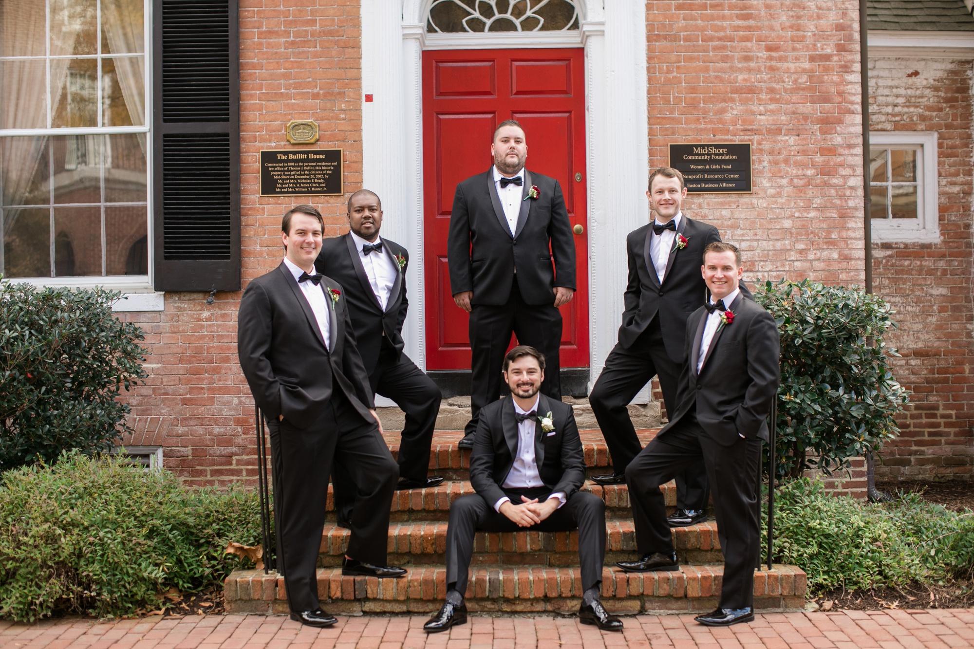Bullet House groomsmen photo