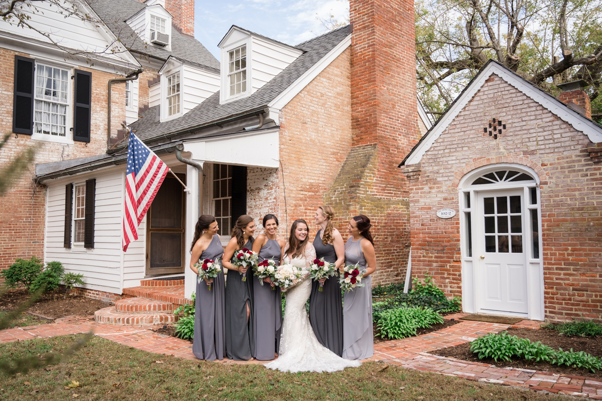 Bullet House bridesmaid photo