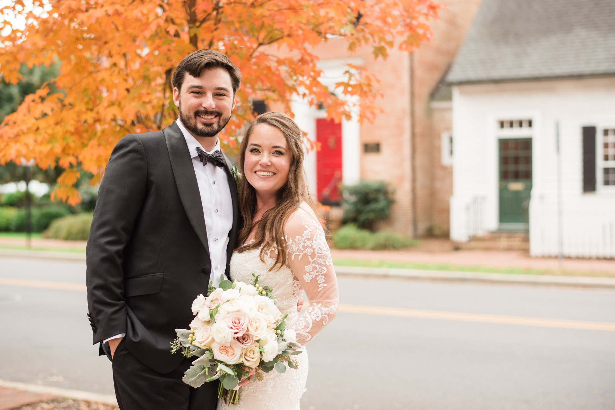 Fall Tidewater Inn wedding photos