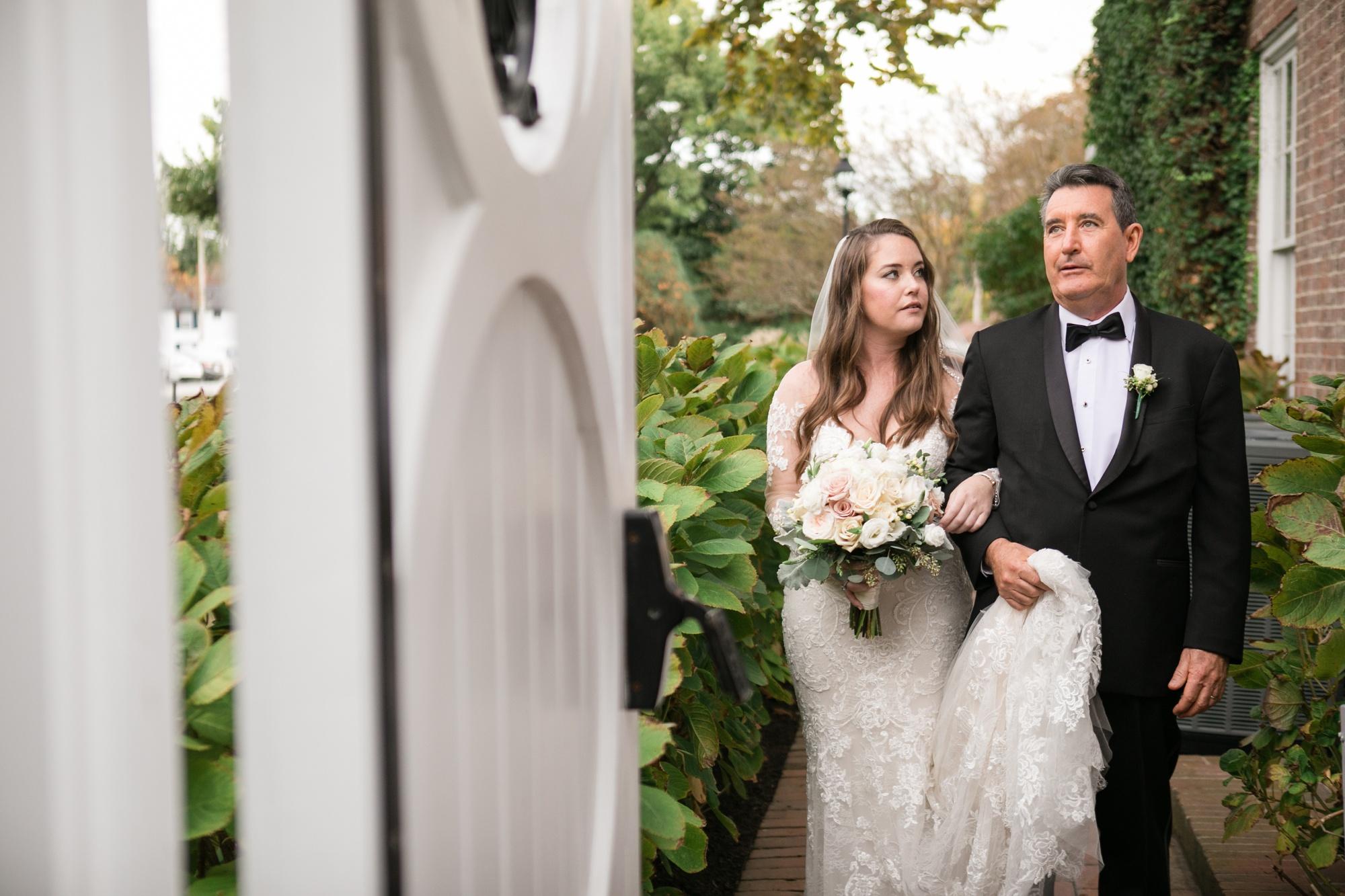 brides entrance wedding ceremony