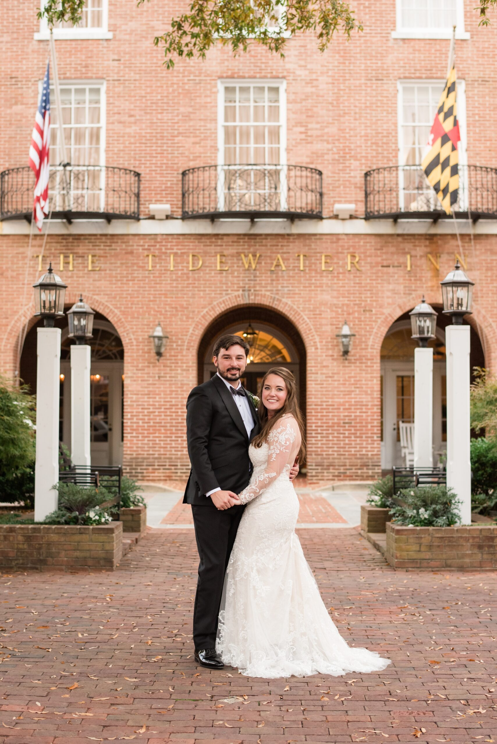 Tidewater Inn wedding photography