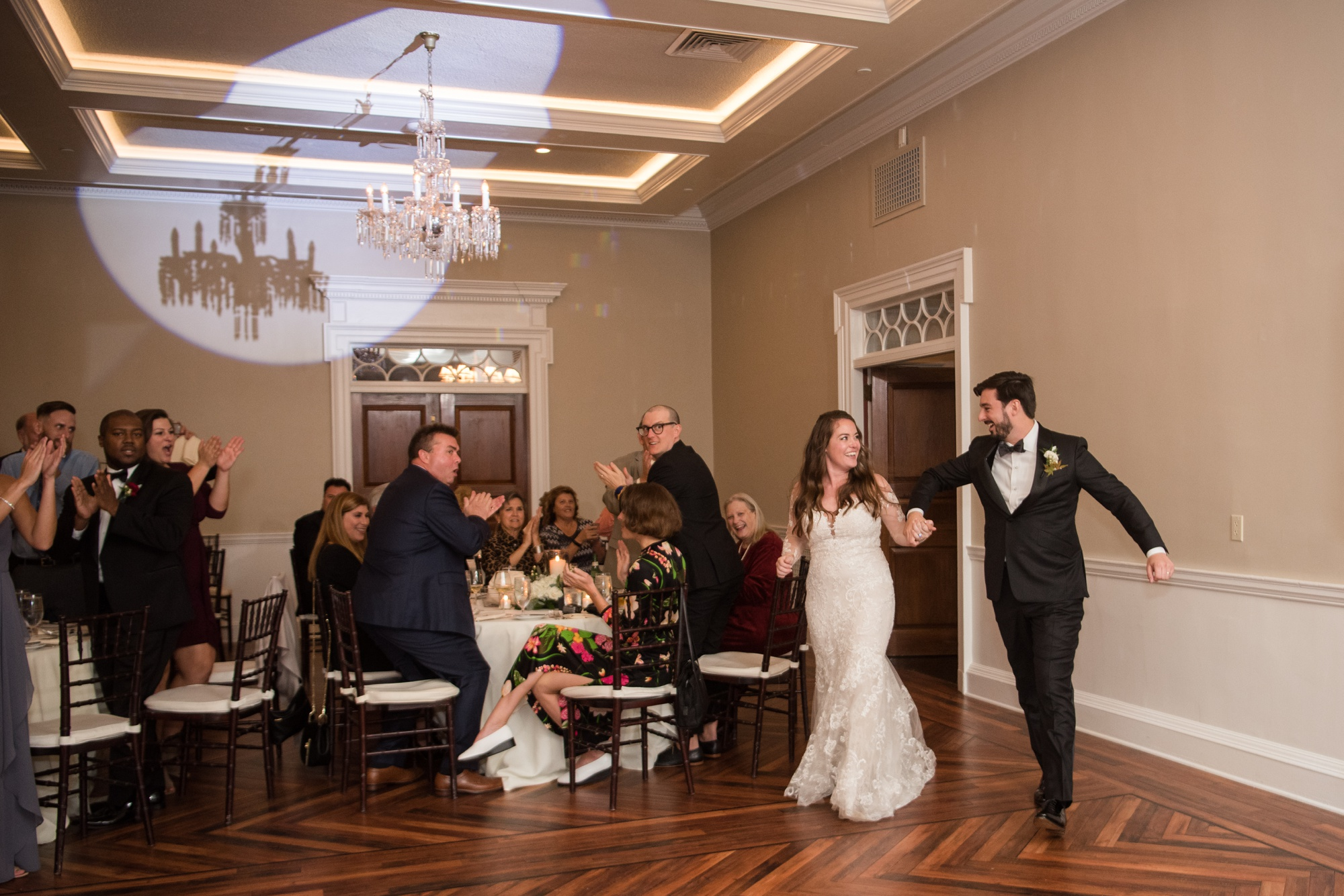 Tidewater Inn wedding introductions