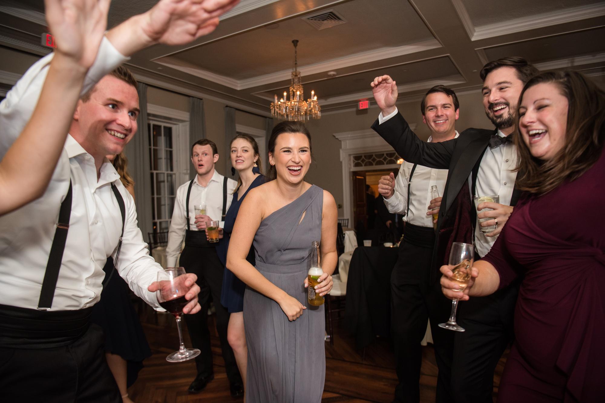 Tidewater Inn wedding reception