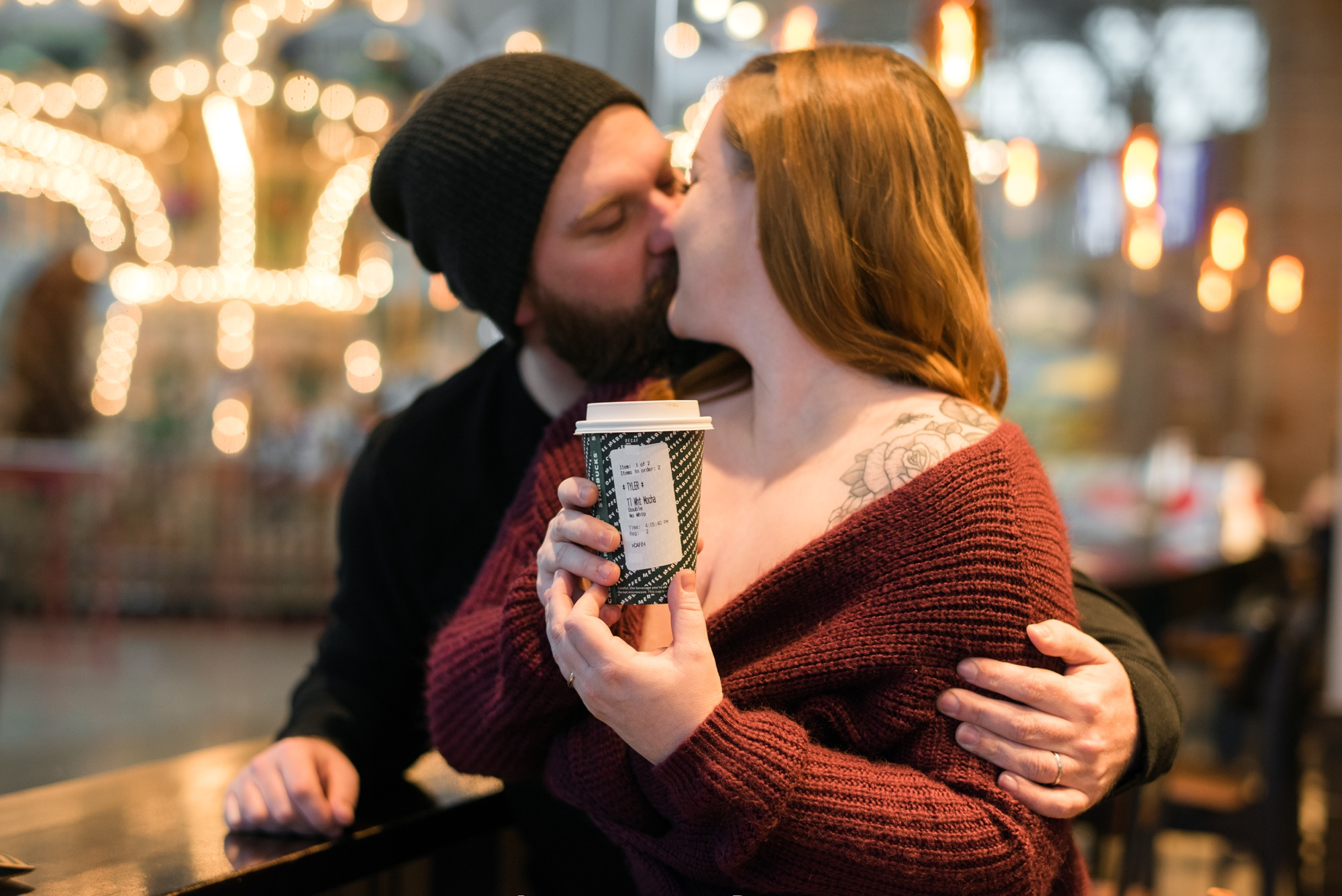 Bumble first date at Starbucks to married one year later