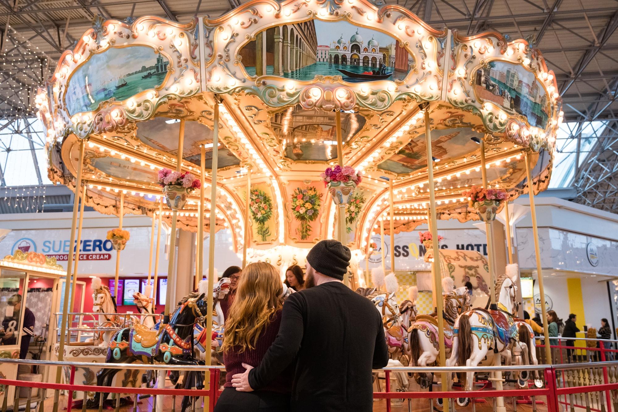 Columbia mall carousel Anniversary photo