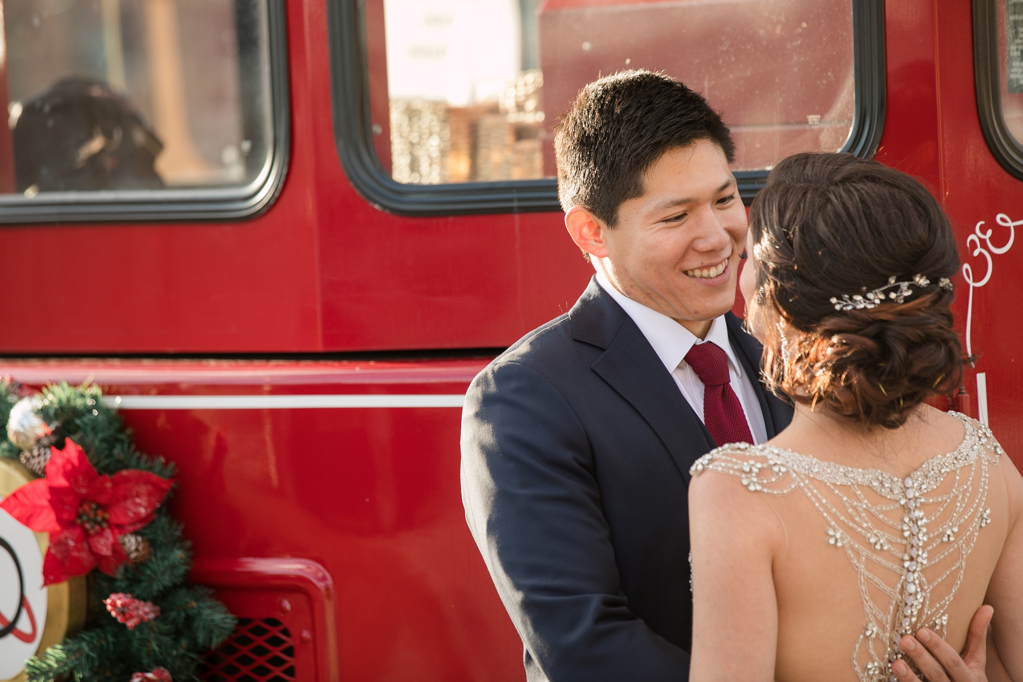Towne Transport downtown annapolis wedding