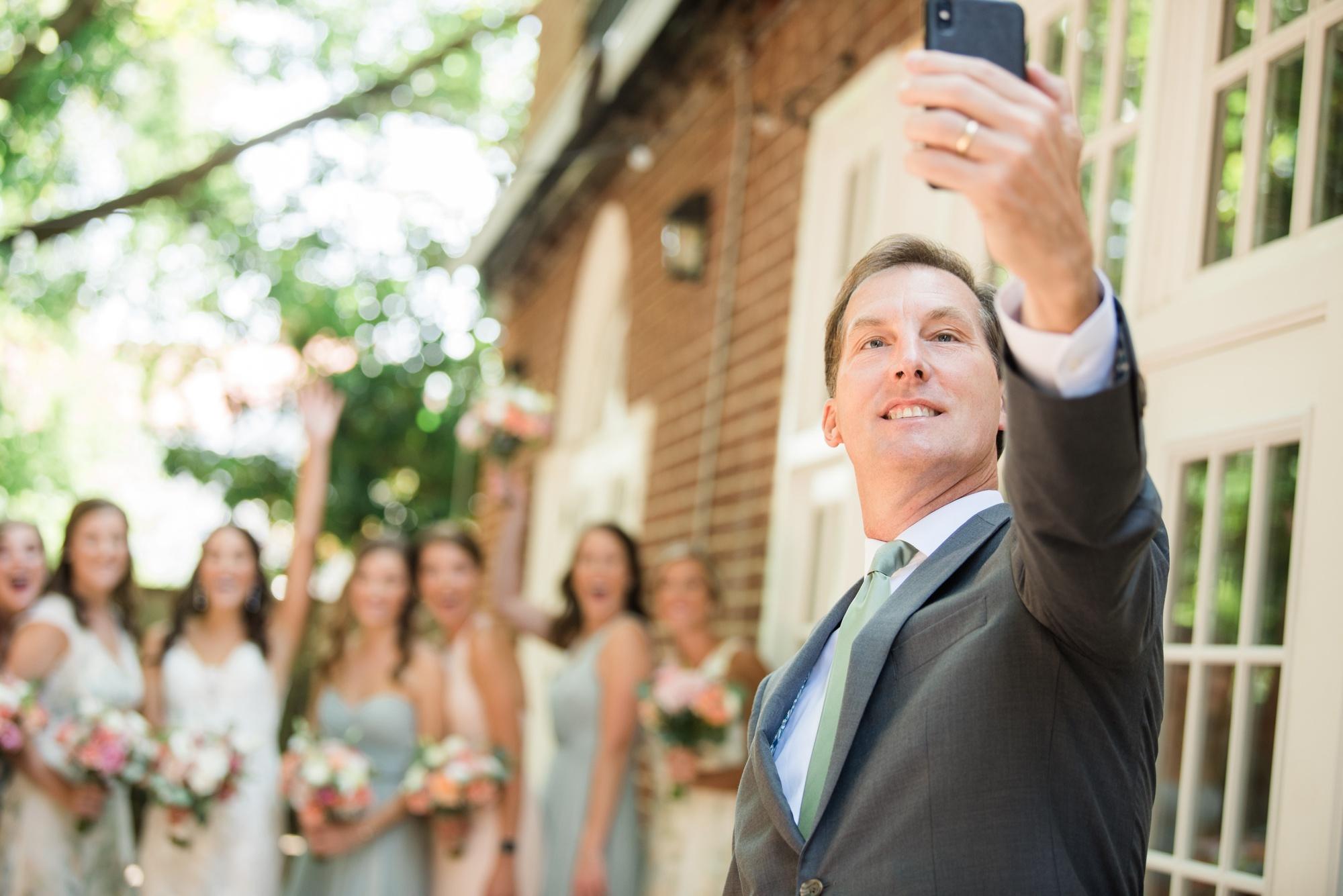 Governor Calvert House Bride and bridesmaid photos