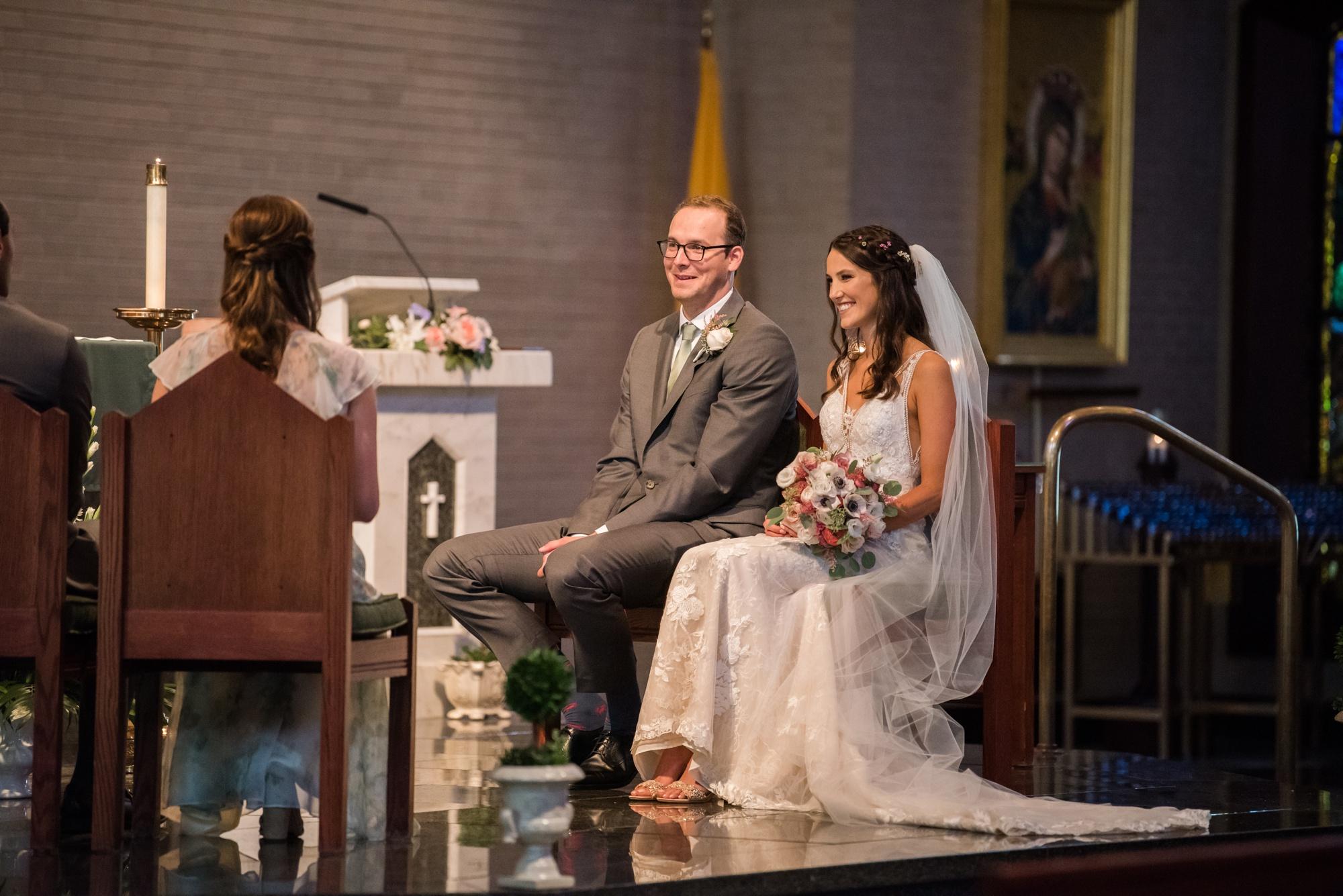 Annapolis indoor wedding ceremony