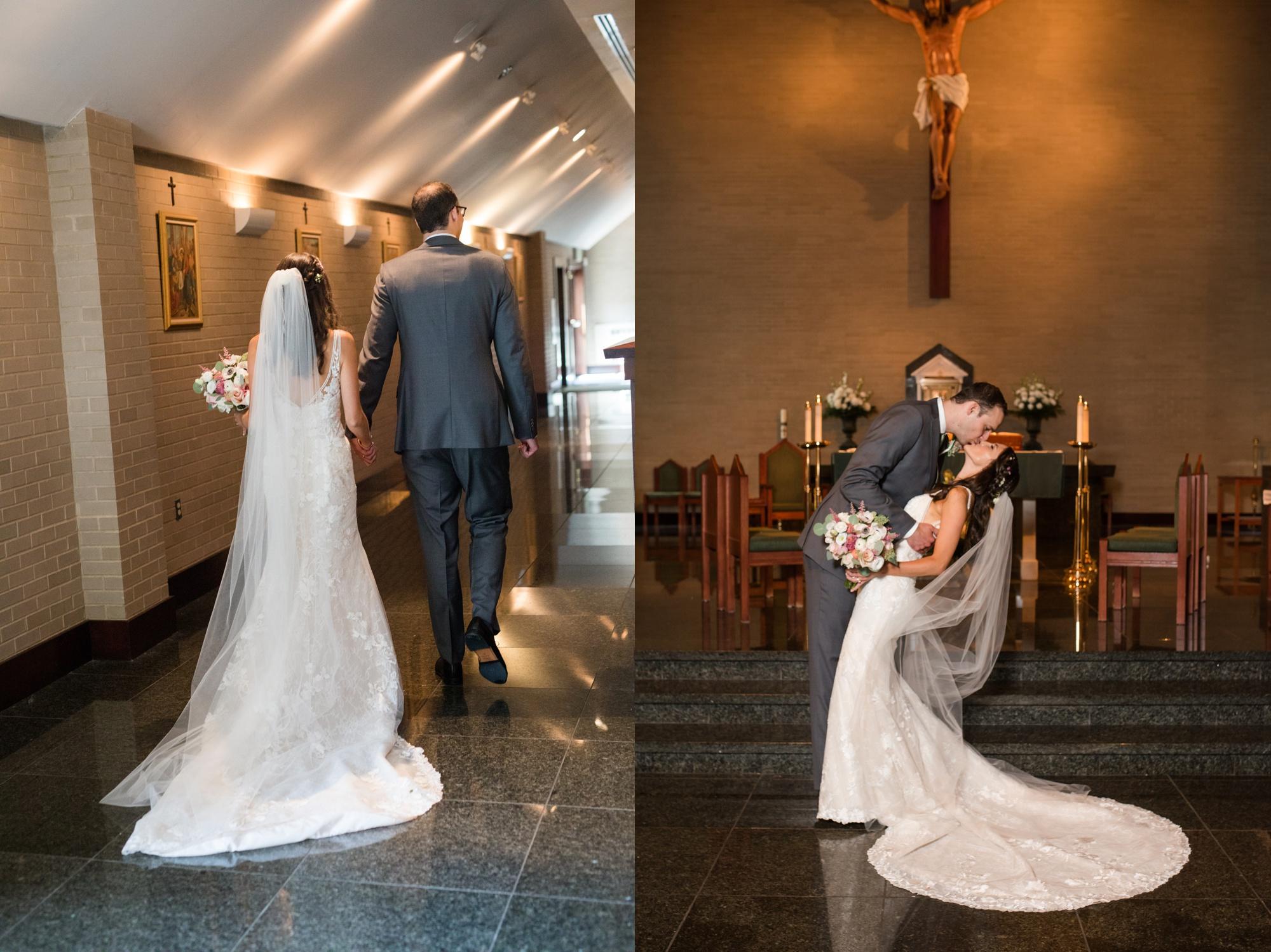 annapolis wedding indoor ceremony