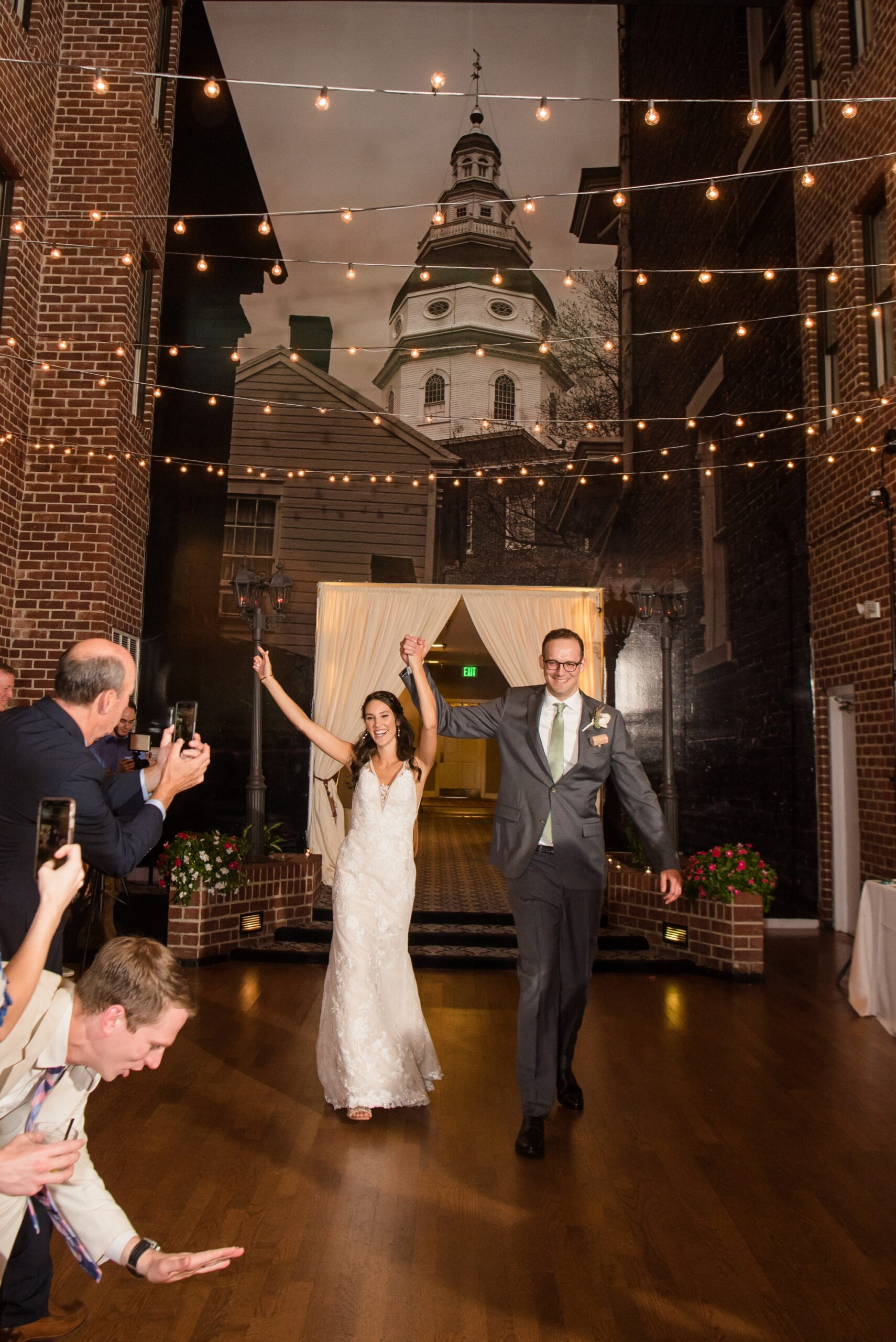 Historic Inns of Annapolis wedding reception introduction
