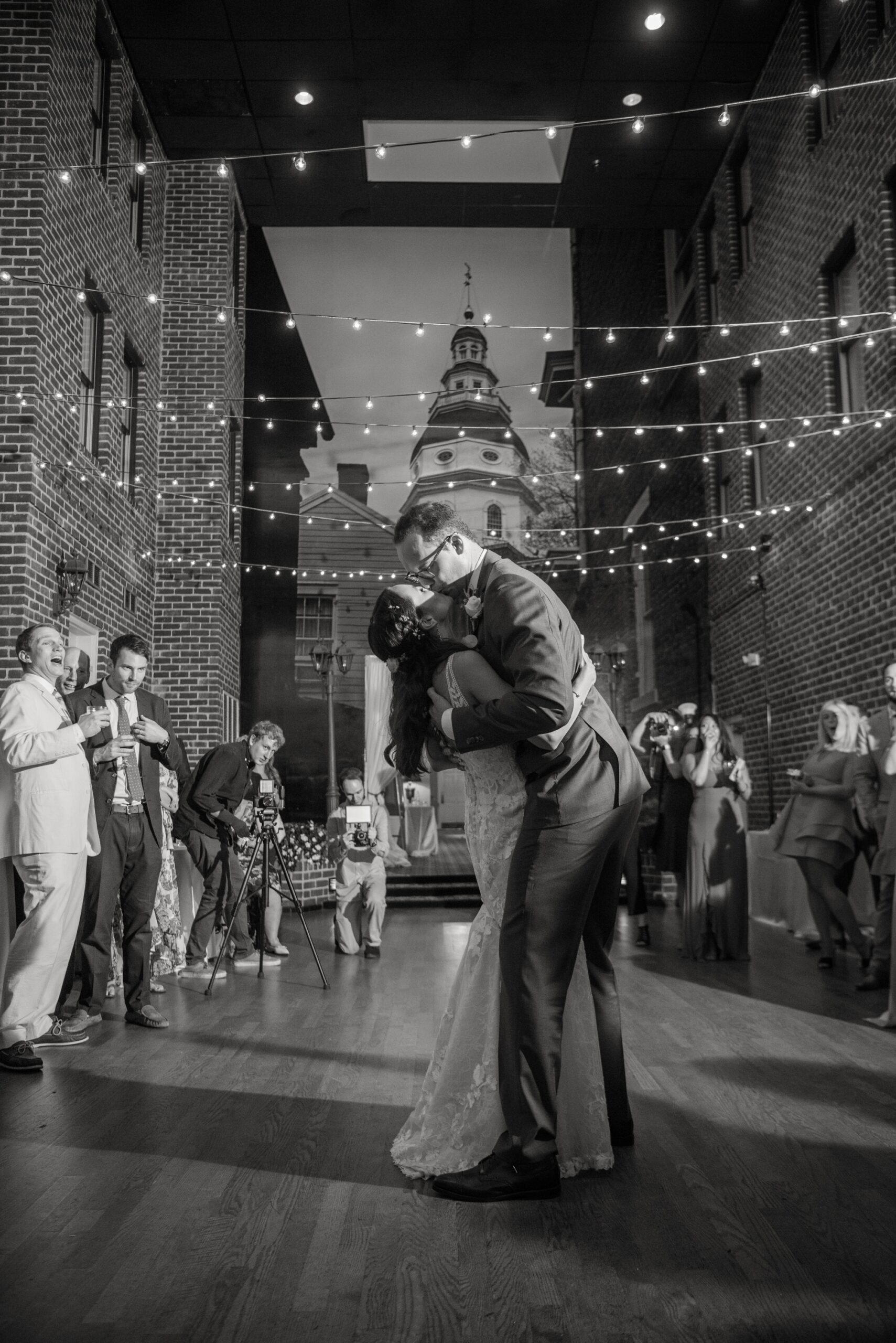Historic Inns of Annapolis wedding first dance