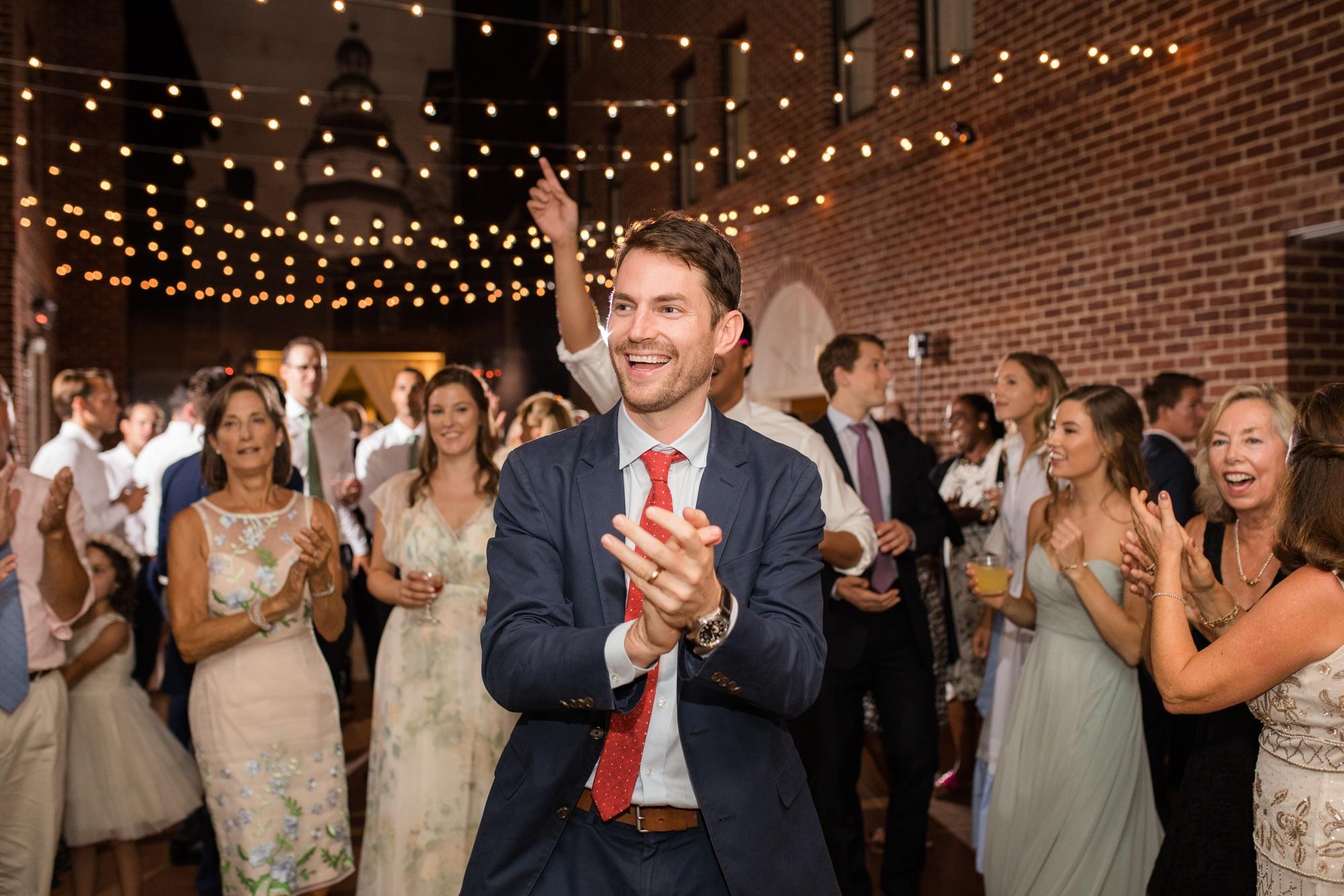 Governor Calvert House wedding reception
