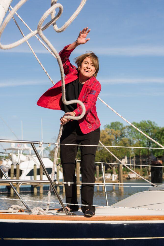 Cornell Alumni Magazine Portrait of Vicki Saporta