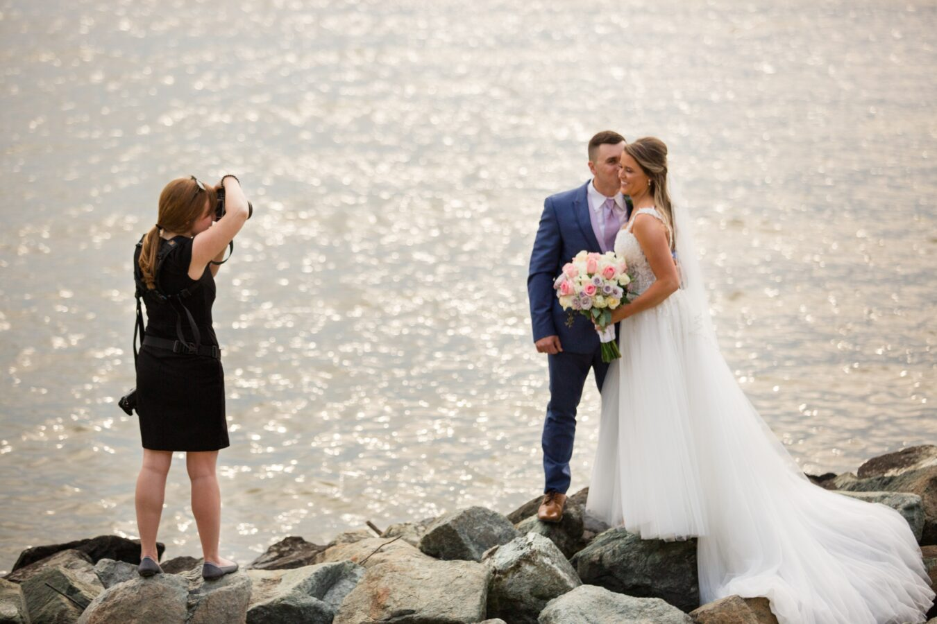 Chesapeake Bay Beach Club Annapolis Wedding Photographer