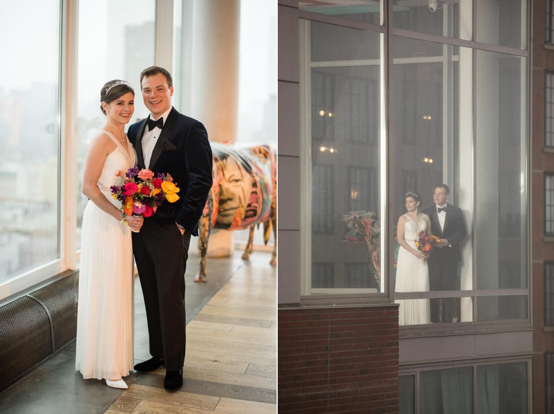 Hotel Indigo NYC destination Wedding photographer