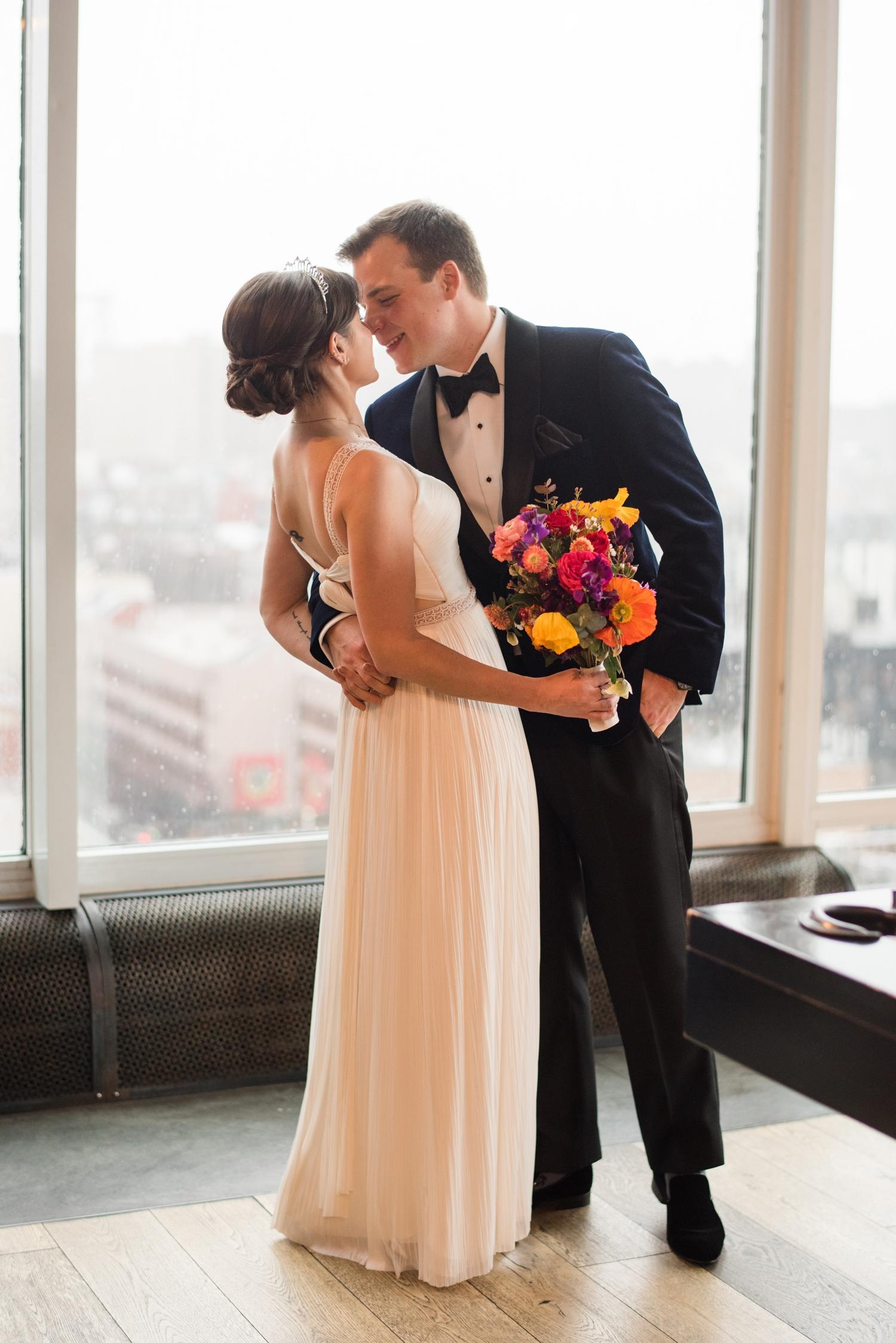 Hotel Indigo NYC Wedding photographer