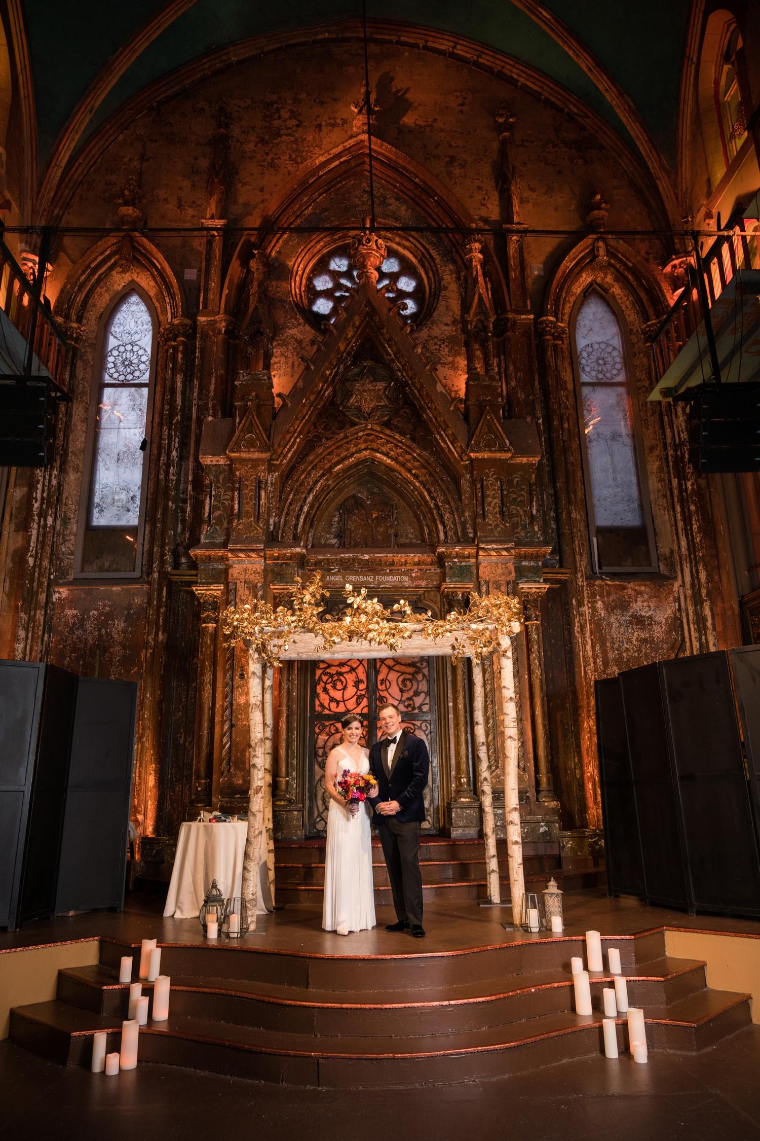 NYC wedding photographs at Angel Orensanz