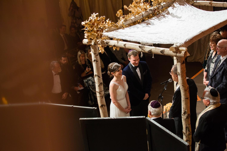 NYC wedding ceremony at Angel Orensanz