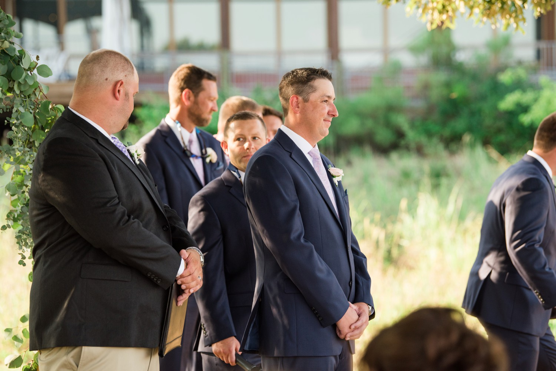 Chesapeake Bay Foundation summer wedding ceremony