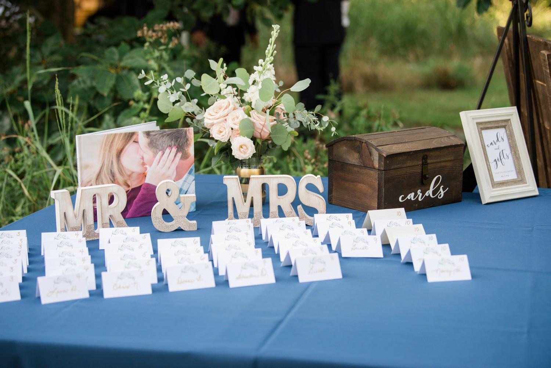 Chesapeake Bay Foundation summer wedding decor