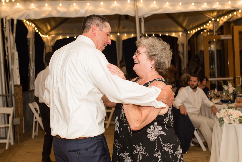 Chesapeake Bay Foundation summer wedding dance party