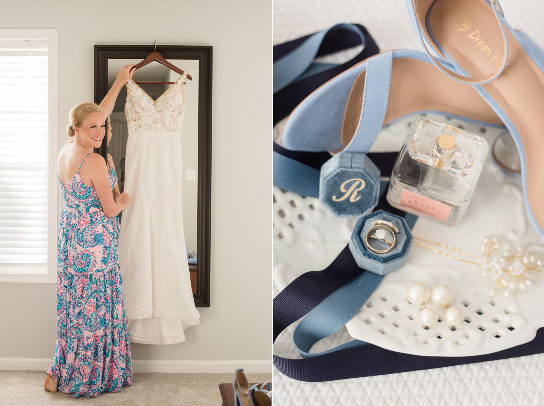 light blue micro wedding inspiration