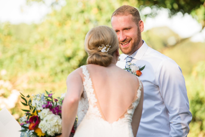 Southern Maryland Neighborhood Waterfront Micro Wedding