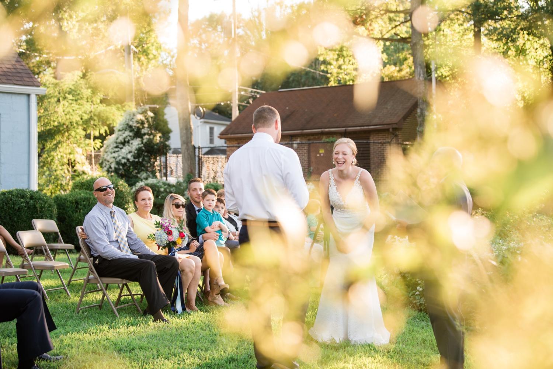 Maryland Waterfront Micro Wedding ceremony