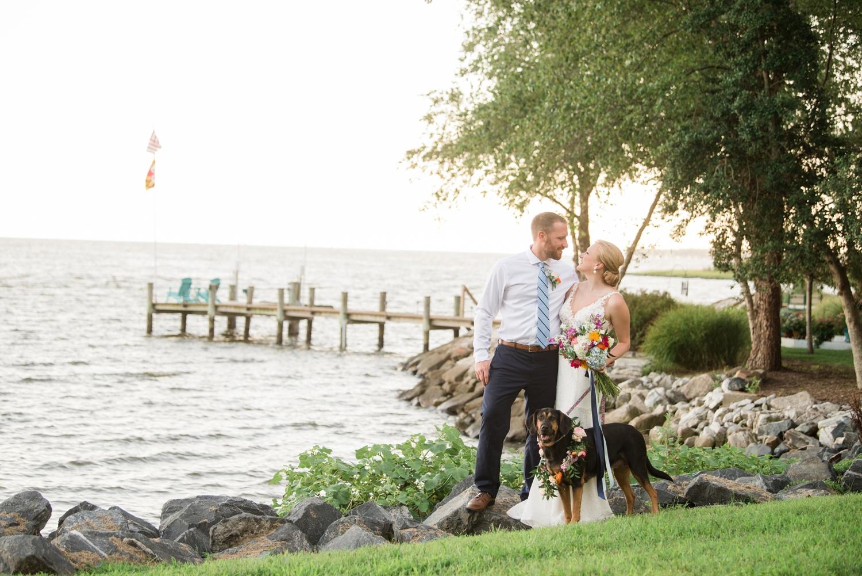 Couple's Neighborhood Micro wedding pup
