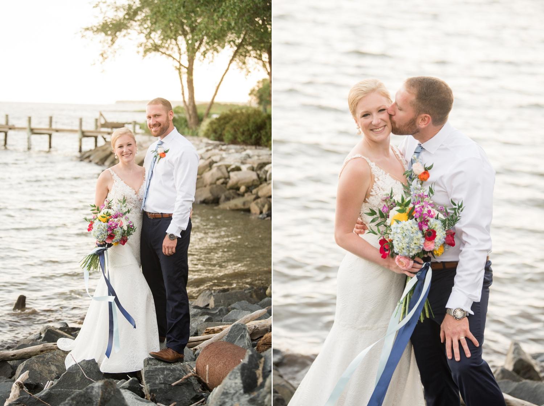 Deale Maryland micro wedding