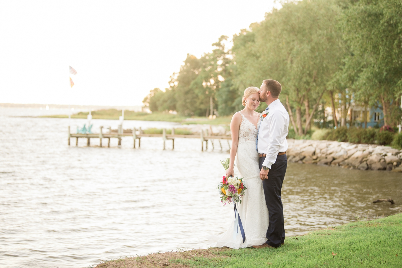 Annapolis Maryland waterfront micro wedding