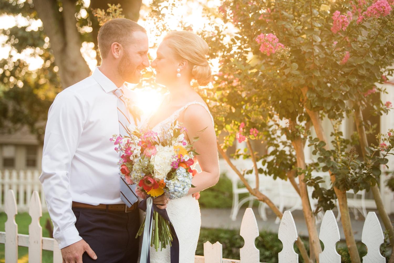 Couple's Neighborhood Micro wedding photos