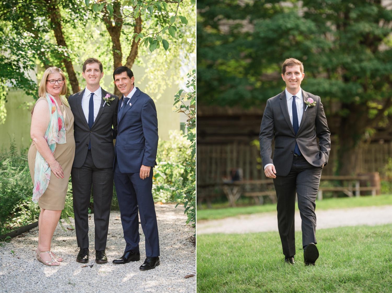 East Coast Micro wedding family photos