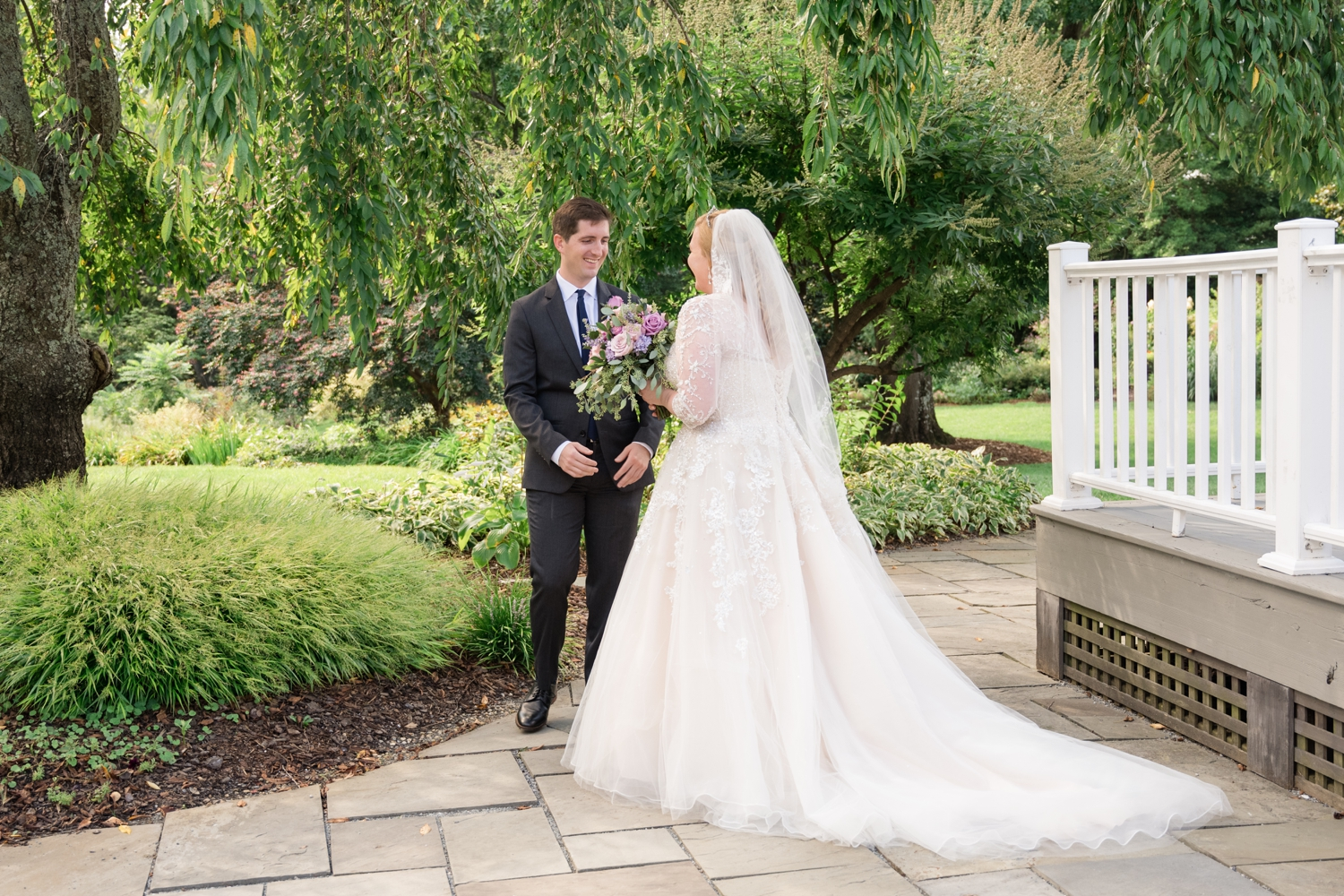 Micro wedding at London Town Gardens