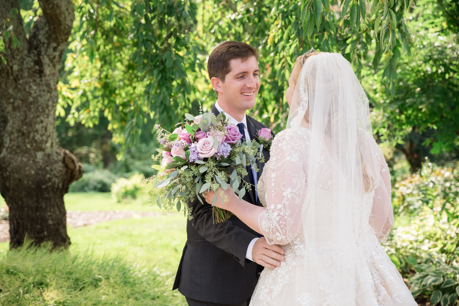 Maryland micro wedding at London Town Gardens
