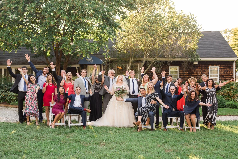 Maryland garden Micro wedding photographs
