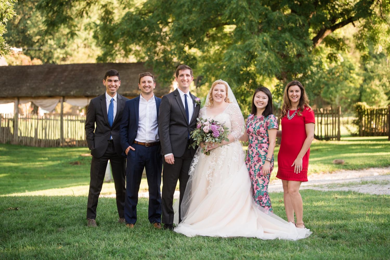 Maryland garden Micro wedding photography