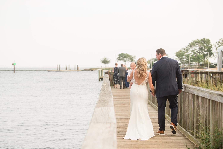 Annapolis Maritime museum mini wedding photographer